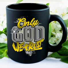 Christian Mugs/ Christmas Mugs With God Jesus Bible Verses Christian Faith  Quotes/ Sayings/ Words Inspirational   Only In God We Trust Coffee Mugs In  Share ...