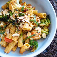Spicy Hummus and Roasted Vegetable Pasta