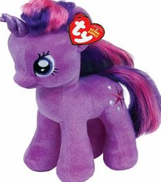TY Beanie Babies My Little Pony Twilight Sparkle Pony Horse cc52f0b07221