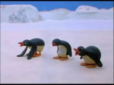 Pingu And His Friends Play Too Loudly - Pingu Official Channel