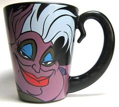 Ursula Disney Villains coffee mug from our Mugs & Cups collection Disney Coffee Mugs, Cute Coffee Mugs, Coffee Love, Coffee Cups, Ursula Disney, Disney Magic, Ariel, Disney Cups, Pretty Mugs