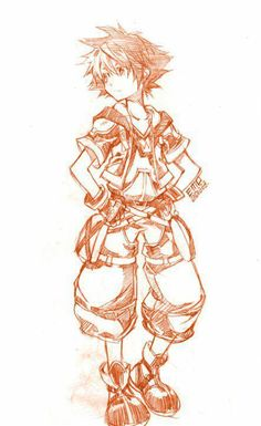 Sora - Kingdom Hearts II