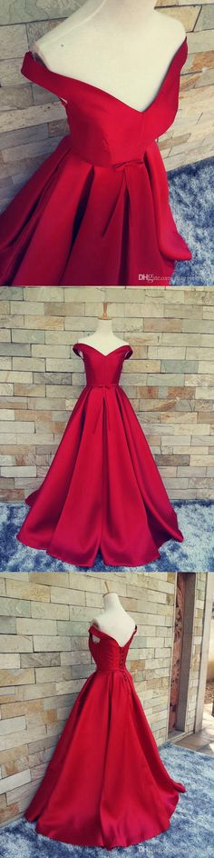 Nice dress for prom .Red Prom Dress Off the Shoulder straps,Prom Dresses Long Graduation Party Dresses, Formal Dress For Teens, Straps Prom Dresses, Best Prom Dresses, Ball Gown Dresses, Dance Dresses, Bridesmaid Dresses, Party Dresses, Formal Dresses For Teens, Trendy Dresses, Casual Dresses