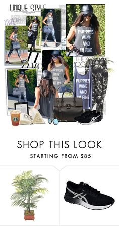 """Nina Dobrev - Leaving the Gym in Los Angeles - 01/09/2016"" by iced ❤ liked on Polyvore featuring Asics"