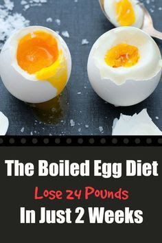 Announcement: The Boiled Egg Diet – Lose 24 Pounds In Just 2 Weeks