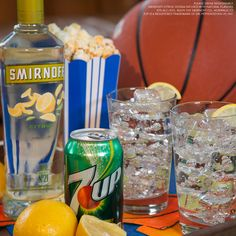 THE SELECTOR. The teams have been selected. Time to fill out your bracke and mix up a delicious drink  Just mix 1.5 oz Smirnoff Citrus and 3 oz 7UP, and enjoy!
