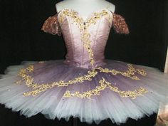 NEW COLLECTION 2015! Another gorgeous stage costume created for the role of the Sugar Plum Fairy in the Nutcracker, but that can be used for many other classical ballets. Sleeping Beauty, Paquita, Ray