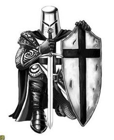 Bildergebnis für kneeling Templar Knight