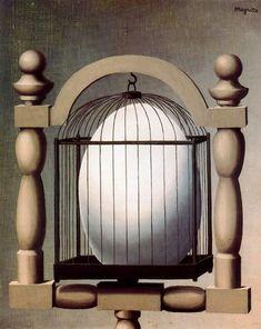 """""""Le affinità elettive"""", 1933. René Magritte."""
