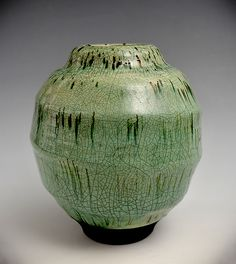 Ripples by Tom Neugebauer: Ceramic Vase available at www.artfulhome.com