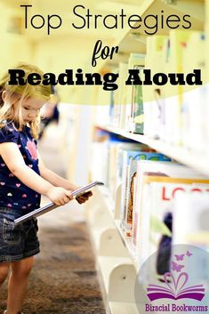Teach kids HOW to read with quality and diverse literature.  These strategies for reading aloud with young children will help you engage young kids with reading magic!  How to use board books, rhyming books, poetry, picture books; so you can go to any library or bookstore and always pick the perfect book!
