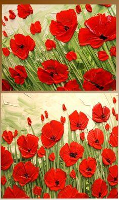 Poppies by Nicolette Vaughan Horner