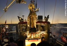 The Virgen del Carmen is taken out to sea on the 16th July to celebrate the Saint's day. Photo © Michelle Chaplow