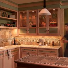 How to Install Under Cabinet Lighting in Your Kitchen  Add dramatic countertop lighting in a weekend without tearing up your walls to install the wiring.