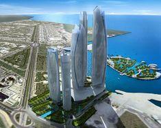 Capital dos Emirados Arabes Unidos, em Abu Dhabi o petroleo e fonte de recursos para investimentos em cultura e entretenimento