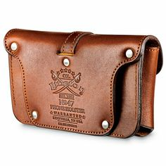 """Colonel Littleton Leather Smartphone Holster Case--too small for Note 2, a little Tennessee style... ( 2.56x4.5x.75"""")"""