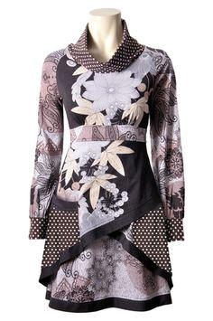 Savage Culture: Sensual Shirley Asymmetrical Dress, $119.00