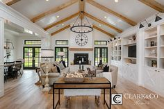 "Clark & Co Homes - 2016 Spring Parade Home ""The Heartland"". Modern Farmhouse. www.clarkandcohomes.com"