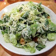 Outback caser salad.. Texas Roadhouse's is better, but it's def to die for :)