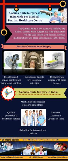With Dheeraj Bhojwani Consultants India, you may get all the medical services related to Gamma Knife Surgery in assistance with the best surgeons in India. -
