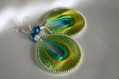 Handmade Peruvian Thread Earrings