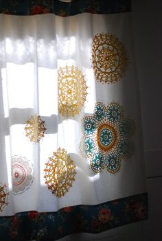 doilies for curtains - Bing Images