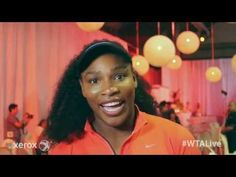 Serena Williams | WTA Live Fan Access presented by Xerox | 2015 Rogers Cup - YouTube