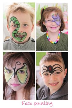 """a """"Buggy"""" party for the sweetest little bug: The Face Painting"""