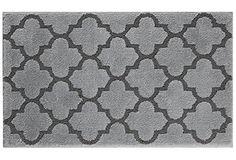 STAINMASTER Trusoft Lattice Design Bath Rug, 21 by 36-Inch, Cobble Stone Grey, http://www.amazon.com/dp/B00TRWBJJS/ref=cm_sw_r_pi_awdm_ogFEvb00997K1