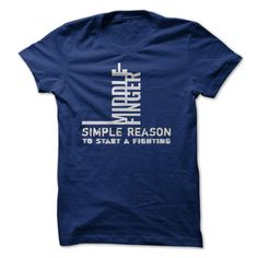 Reason to start a fighting T-Shirts, Hoodies. CHECK PRICE ==►…