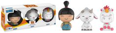 Despicable Me 3: Agnes, Lucky, Fluffy Dorbz 3 pack by Funko, TRU exclusive