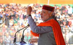 प्रधानमंत्री नरेन्द्र मोदी ने हिमांचल में होने वाले चुनाव का आगाज कर दिया है| हाल ही में दिल्ली में हुई भा.ज.पा.की जीत के बाद पार्टी के होसले बुलंद है| हिमांचल की जनता को संबोधित करते हु