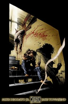 Wolverine by Mike Deodato Jr. Colors by Jake Townsend