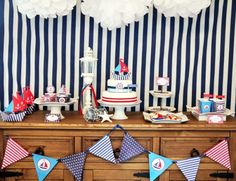 Preppy Nautical Party by Bird's Party12