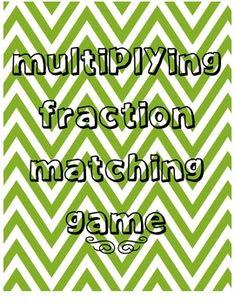 Multiplying Fraction Models
