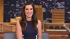 """Sandra Bullock adopted her second child - a little girl named Laila (pronounced """"Lila""""). #celebritymoms #babynames #celebrityparents #whattoexpect 