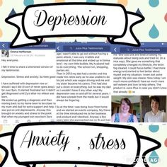 Juice plus and depression/anxiety