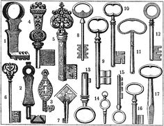 printable - keys