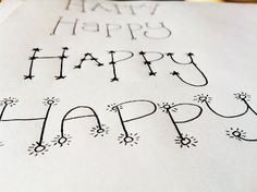 easy DIY hand lettering  typography, fonts