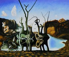 Dali and the Ugly Duckling