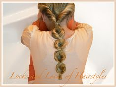 Easy & Quick Hairstyles:  Looped Ponytail with a 2min video