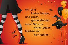Halloween-Spruch: Wir sind kleine Geister                                                                                                                                                                                 Mehr