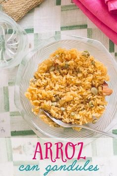 This arroz con gandules Puerto Rican Style is an authentic way to enjoy this very traditional dish from Puerto Rico. You'll keep coming back for seconds! Puerto Rican Dishes, Puerto Rican Recipes, Side Dishes Easy, Side Dish Recipes, Dinner Recipes, Arroz Con Gandules Puerto Rican Recipe, Pigeon Peas And Rice Recipe, Puerto Rico Food, Food Wishes