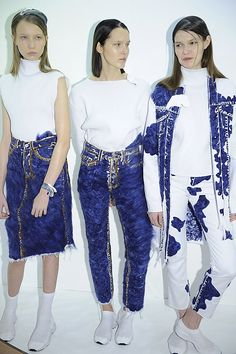 Faustine Steinmetz London Fashion Week A/W15
