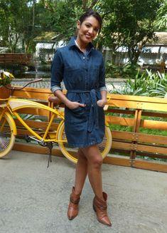 0c3f1066f8 Look jeans  inspire-se em 11 peças usadas por Patrícia Poeta