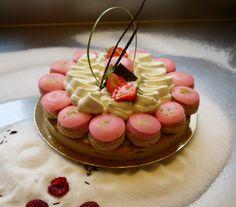 Saint Honoré à la fraise