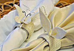 pliage de serviette pour table de Pâques
