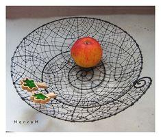 Wire Crafts, Metal Crafts, Wire Tutorials, Wire Weaving, Wire Art, Sculptures, Miniatures, Basket, Rustic