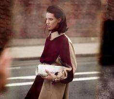 visual optimism; fashion editorials, shows, campaigns & more!: light motiv: ruby aldridge by annemarieke van drimmelen for vogue netherlands december 2013