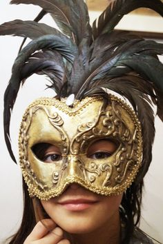 Kleski mask  ornate gold masquerade mask  mardi by SumertaDesigns
